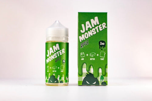 JAM MONSTER | Apple Eliquid 100ML 3MG