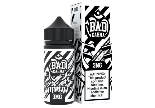 Sugoi Vapor - Bad Karma 100ML 3MG
