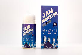 JAM MONSTER | Blueberry Jam Eliquid 100ML 3MG