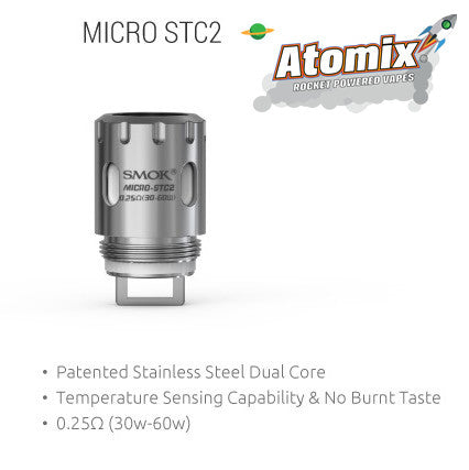 Smok Micro-STC2 Coil (0.25Ohm) (Single Coil)