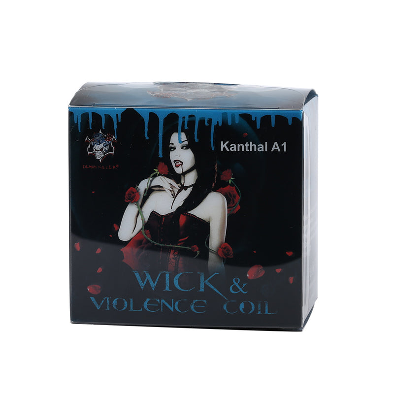 Demon Killer Wick & Violence Coil Kanthal A1 Prebuilt Wire Kit