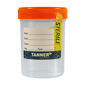 Tanner Scientific® 4oz Sterile Specimen Cups (400/Case) - Drugs of Abuse Tests