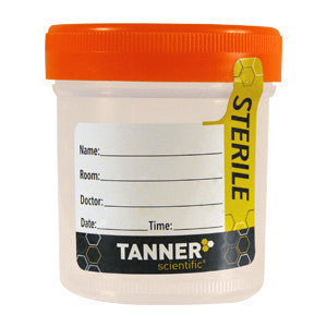 Tanner Scientific® 3oz Sterile Specimen Cups (Case/400 Cups)