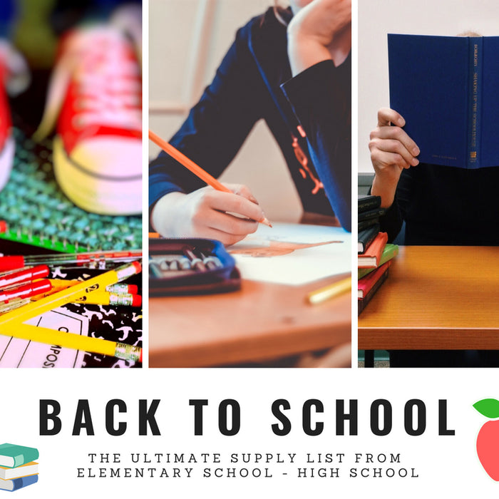 Back to School - Last Minute Items Your Child(ren) Will Need!
