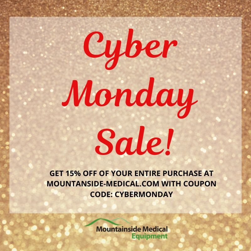 Mountainside Medical Equipment Announces Sitewide Discount for Cyber Monday