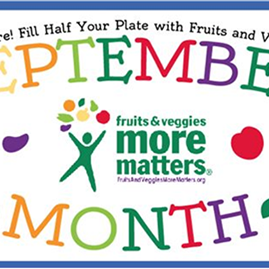 Wellness Wednesday - Fruit & Veggies, Why More Matters