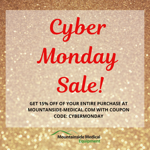 Mountainside Medical Equipment Cyber Monday Sale