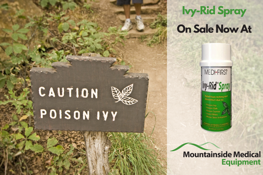 Poison Ivy Treatments at Mountainside Medical Equipment