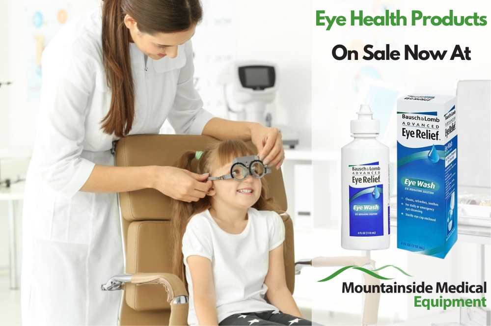 Eye Health Products at Mountainside Medical Equipment