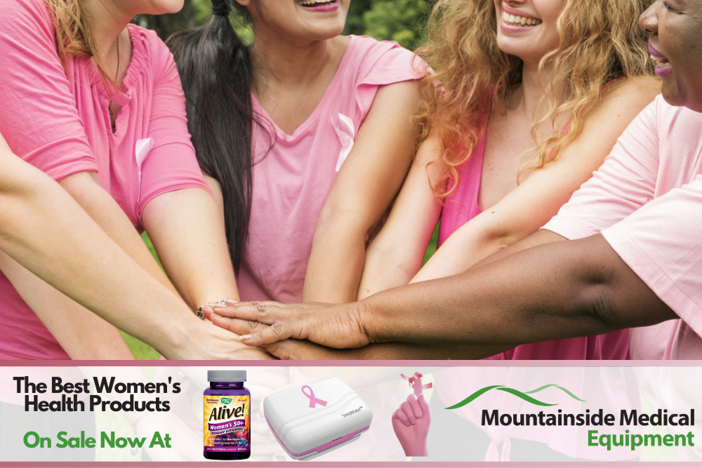 The Best Women's Health and Breast Cancer Awareness Products at Mountainside Medical Equipment