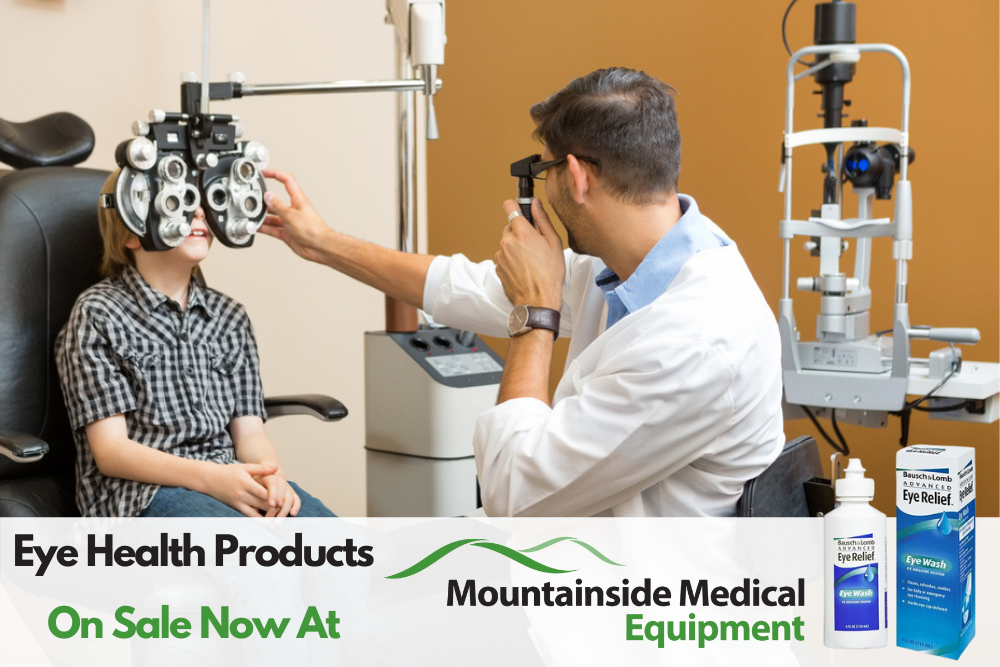 Eye Health Products for Kids Available at Mountainside Medical Equipment