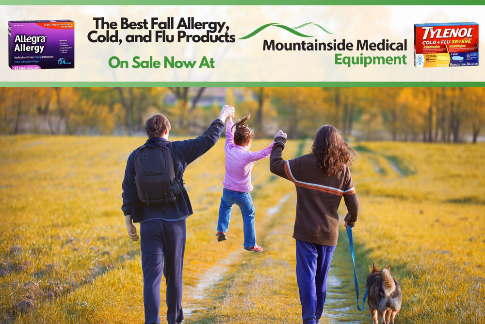 The Best Cold & Flu Relief Products Available at Mountainside Medical Equipment