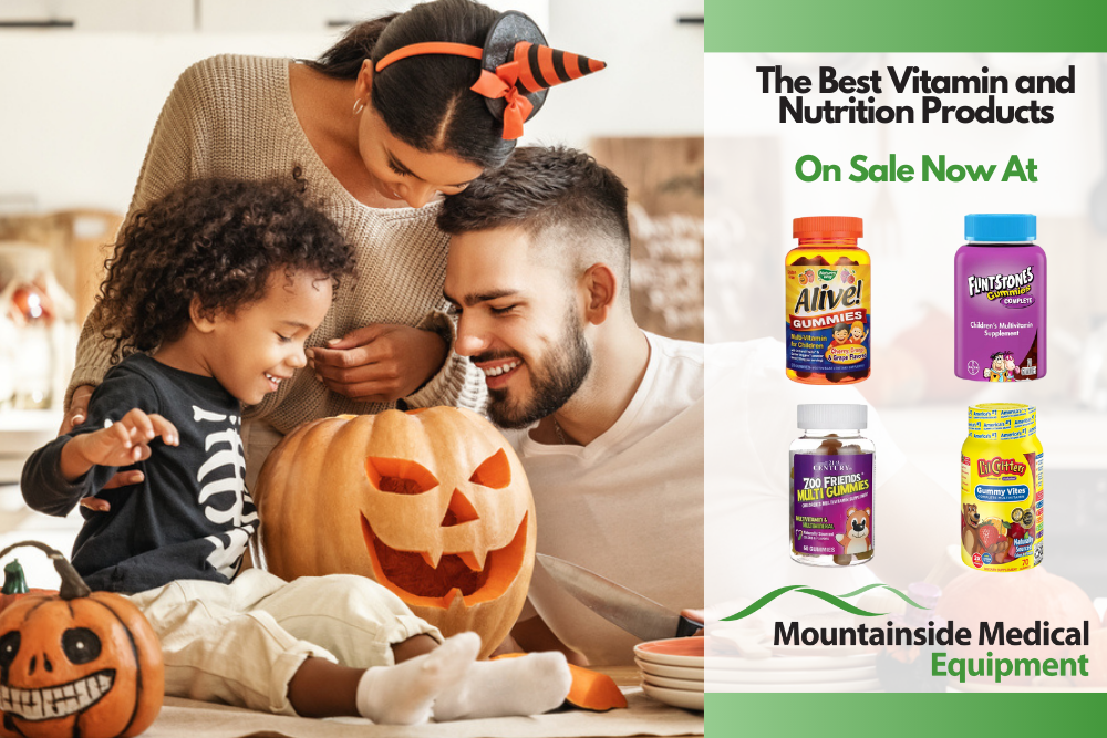Halloween Portion Control Health Tips at Mountainside Medical Equipment
