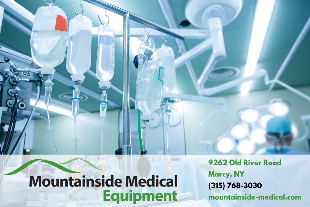 The Best IV Products at Mountainside Medical Equipment