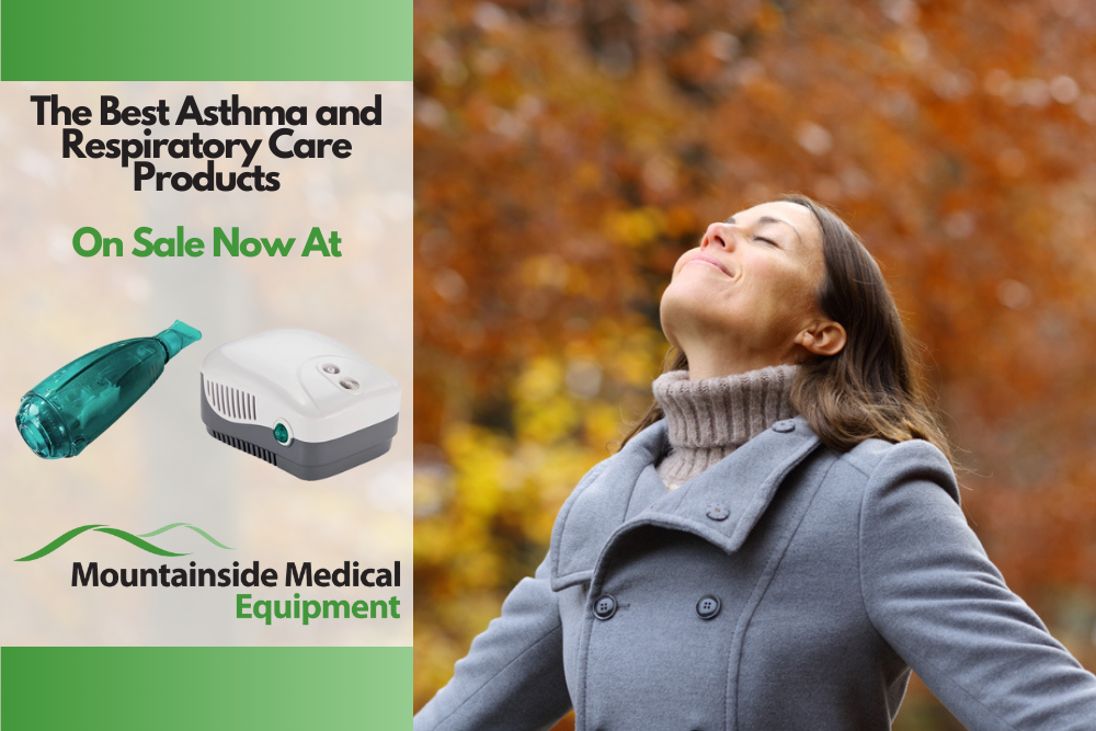 The Best Asthma and Respiratory Care Products Available at Mountainside Medical Equipment