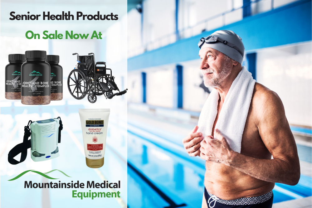 Healthy Aging Month The Best Senior Health Products at Mountainside Medical Equipment