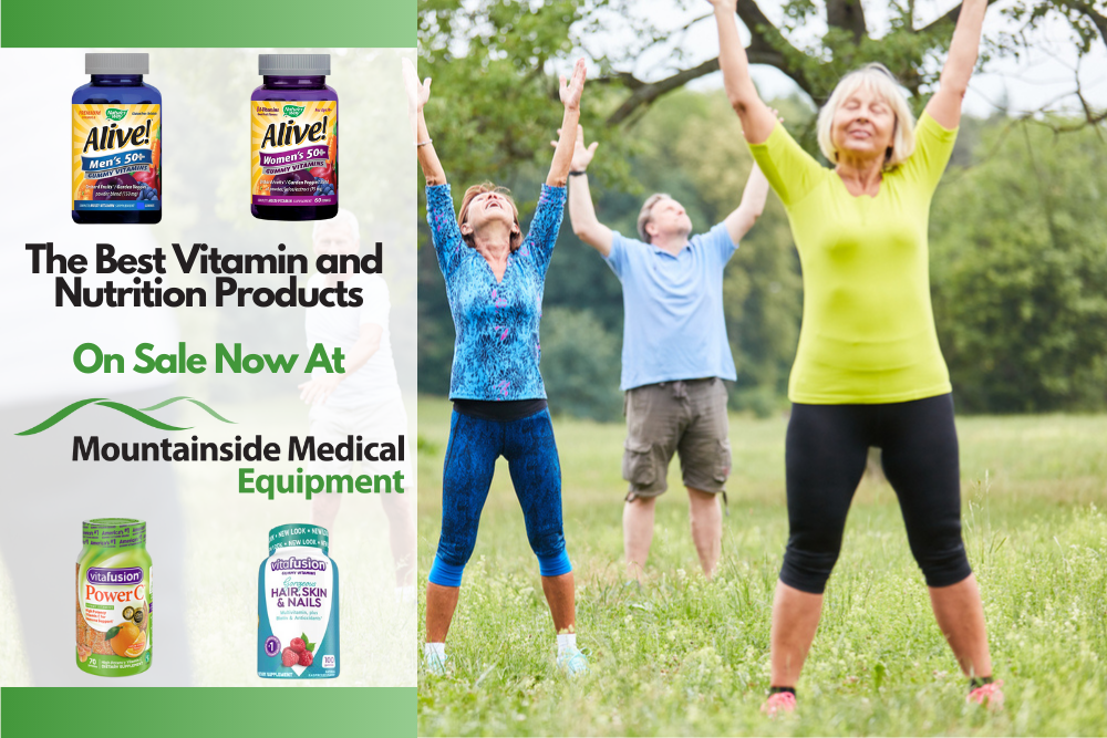 The Best Vitamins Minerals and Supplements Available at Mountainside Medical Equipment