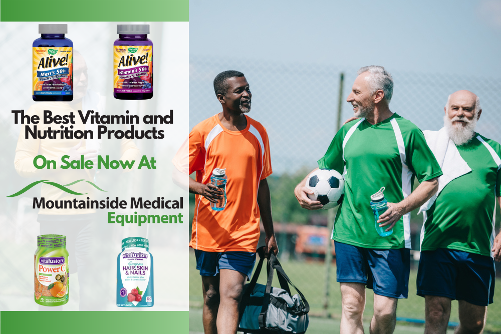 The Best Vitamins, Minerals, and Supplements at Mountainside Medical Equipment