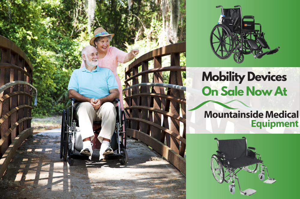 The Best in Affordable Mobility Devices Available at Mountainside Medical Equipment