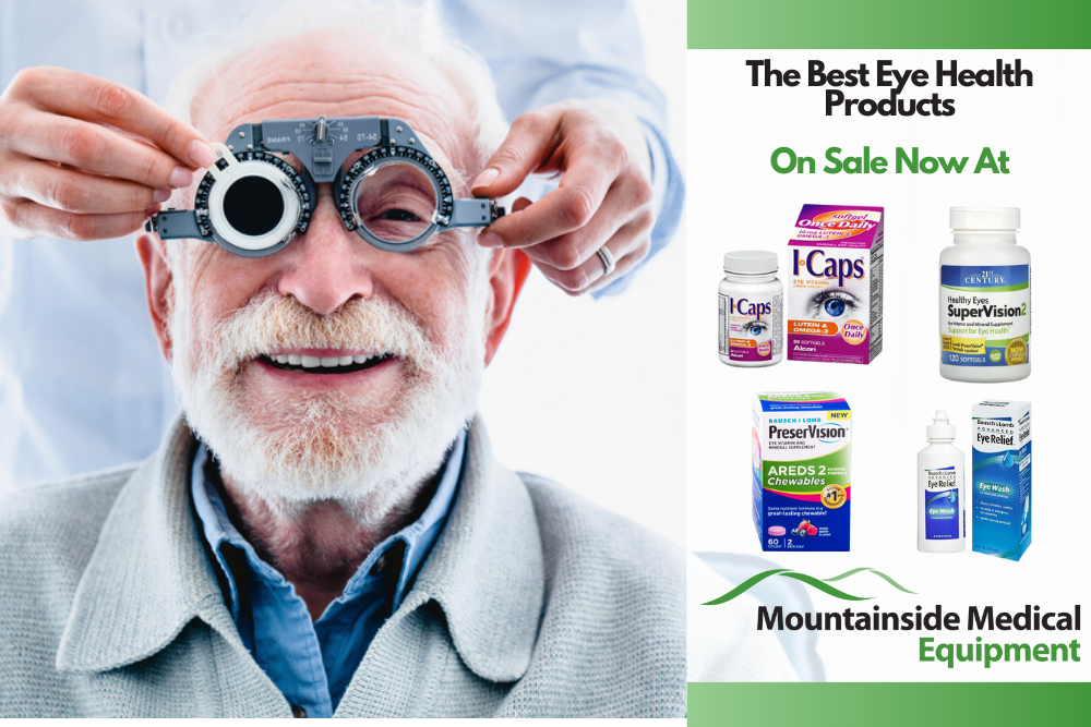 The Best Eye Health Low Vision Products are Available at Mountainside Medical Equipment