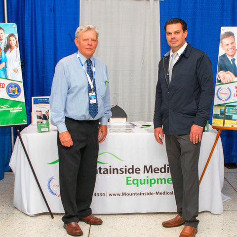Marty Zarnock Sr and Marty Zarnock Jr from Mountainside Medical Equipment a SDVOSB located in Marcy, New York (Upstate)