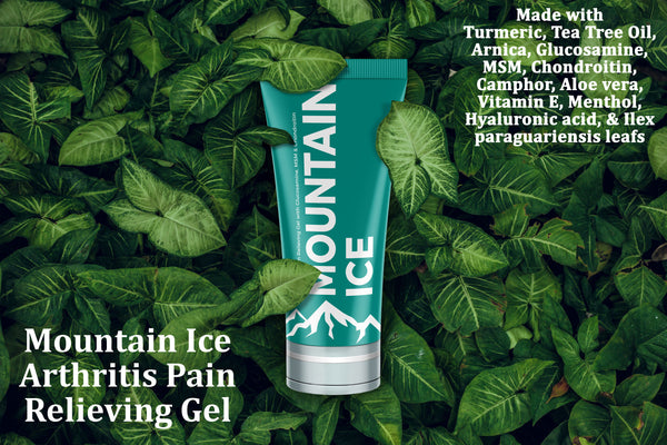 Mounatin ice Pain Relief Gel - Ranked Best Pain Gel of 2019