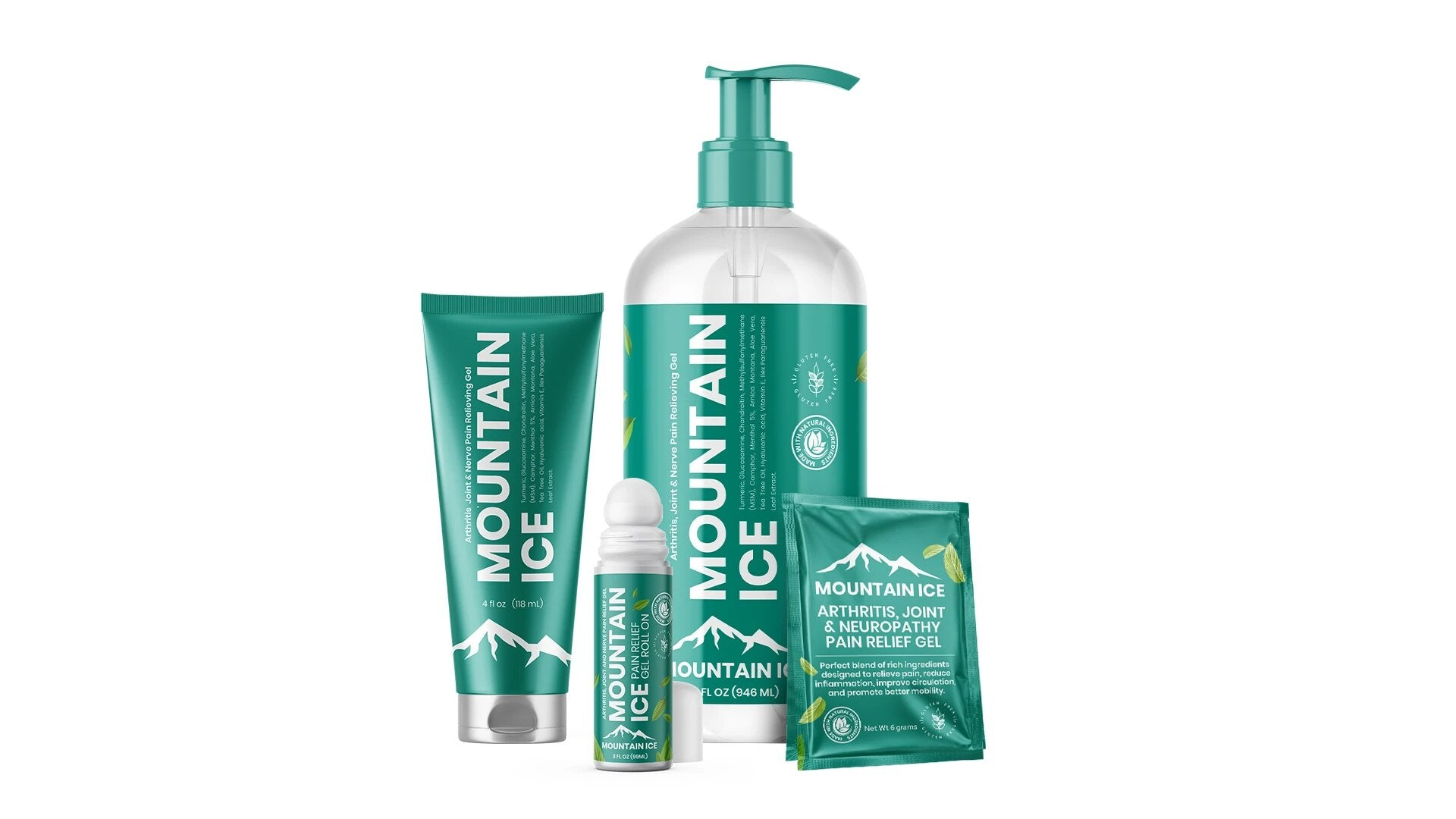 Mountain Ice Product Family