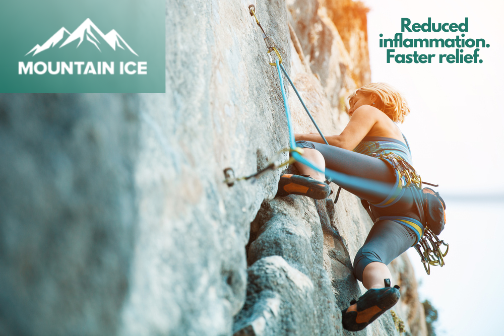 Mountain Ice Pain Relief Gel for Scleroderma