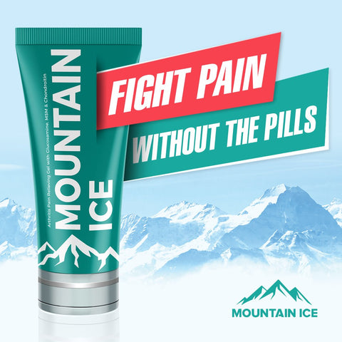 Mountain Ice Fight Pain Without the Pills