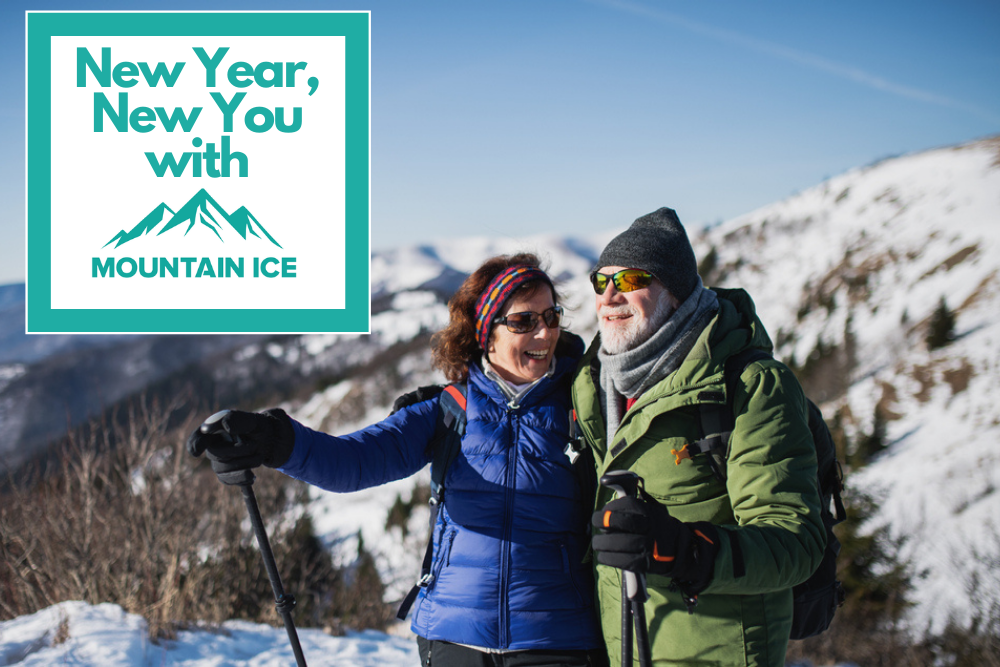 Mountain Ice New Year New You