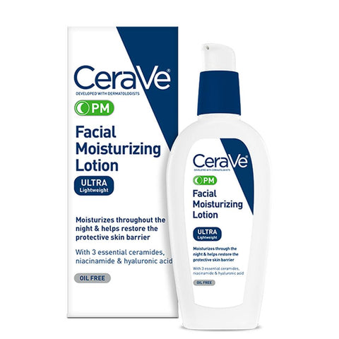 CeraVe PM Facial Moisturizing Lotion 3 oz