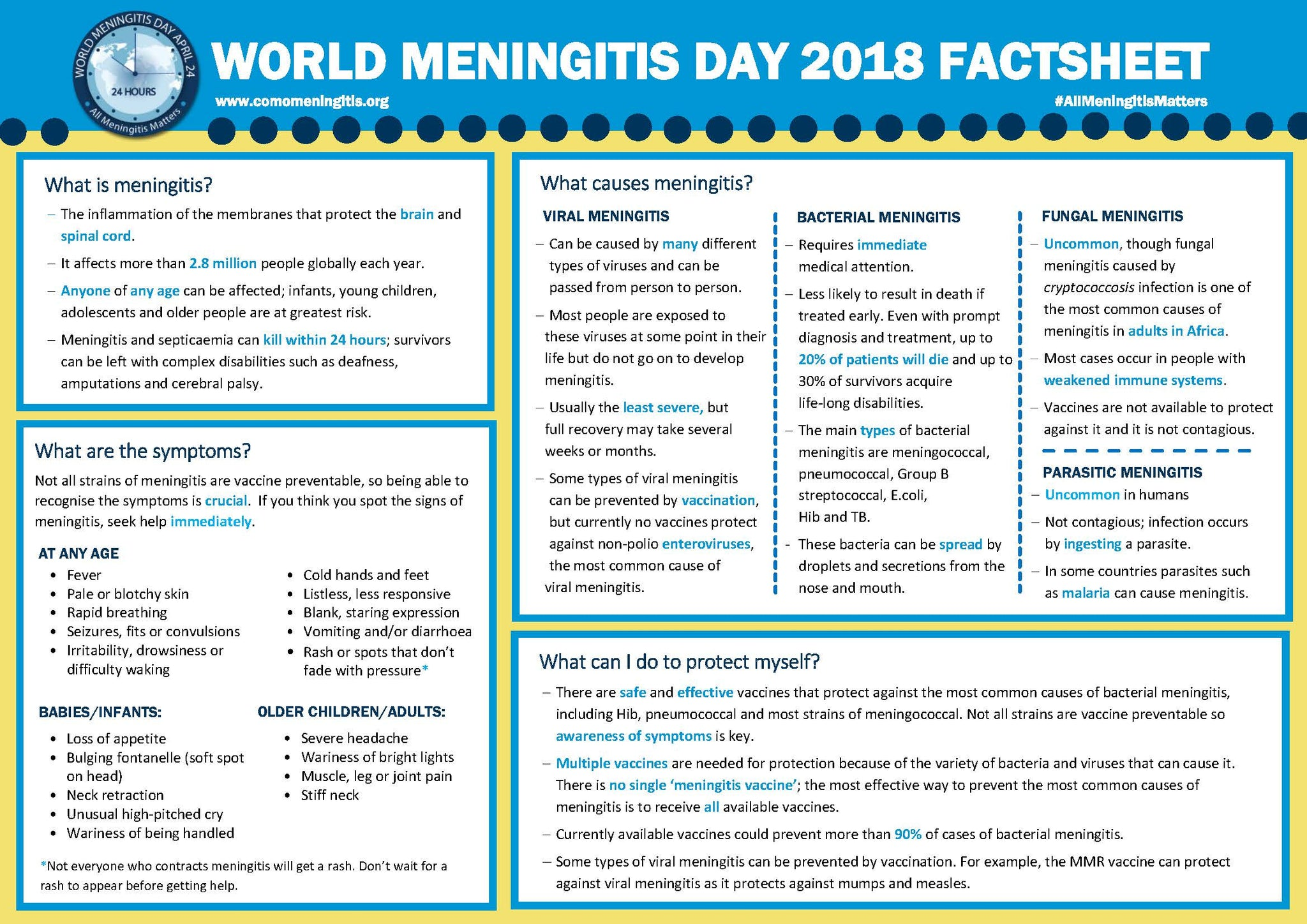 meningitis fact sheet