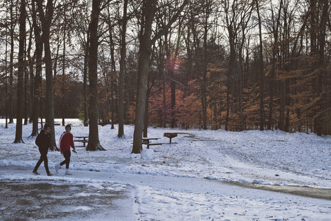 Winter Snow Outdoor Activities Staying Active Exercise