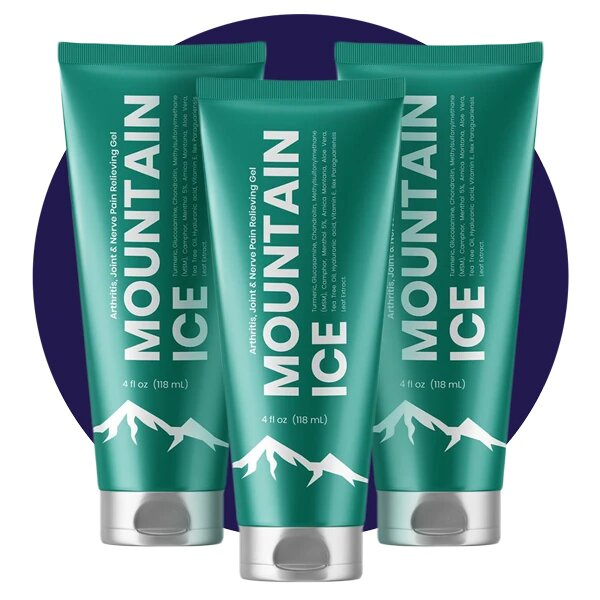 Mountain Ice Pain Relief Gel for Foot Pain from Plantar Fasciitis