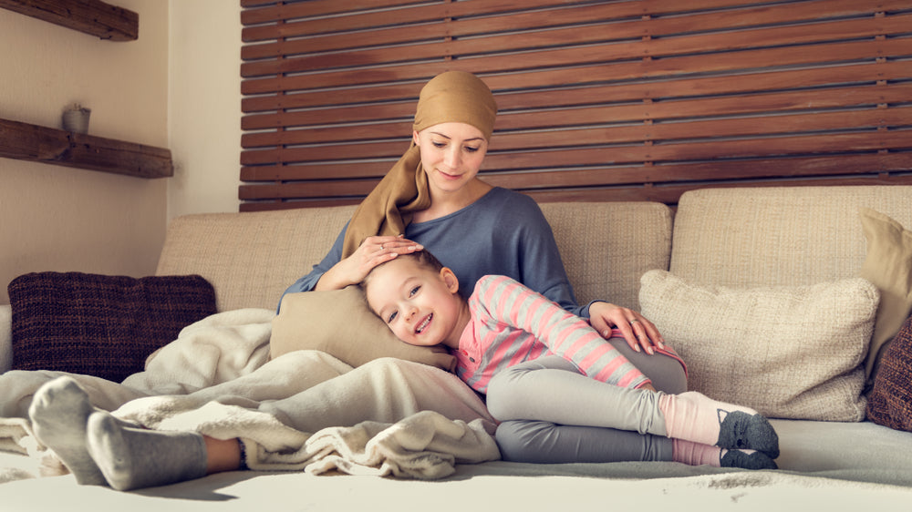 Breast Cancer Patient with Daughter