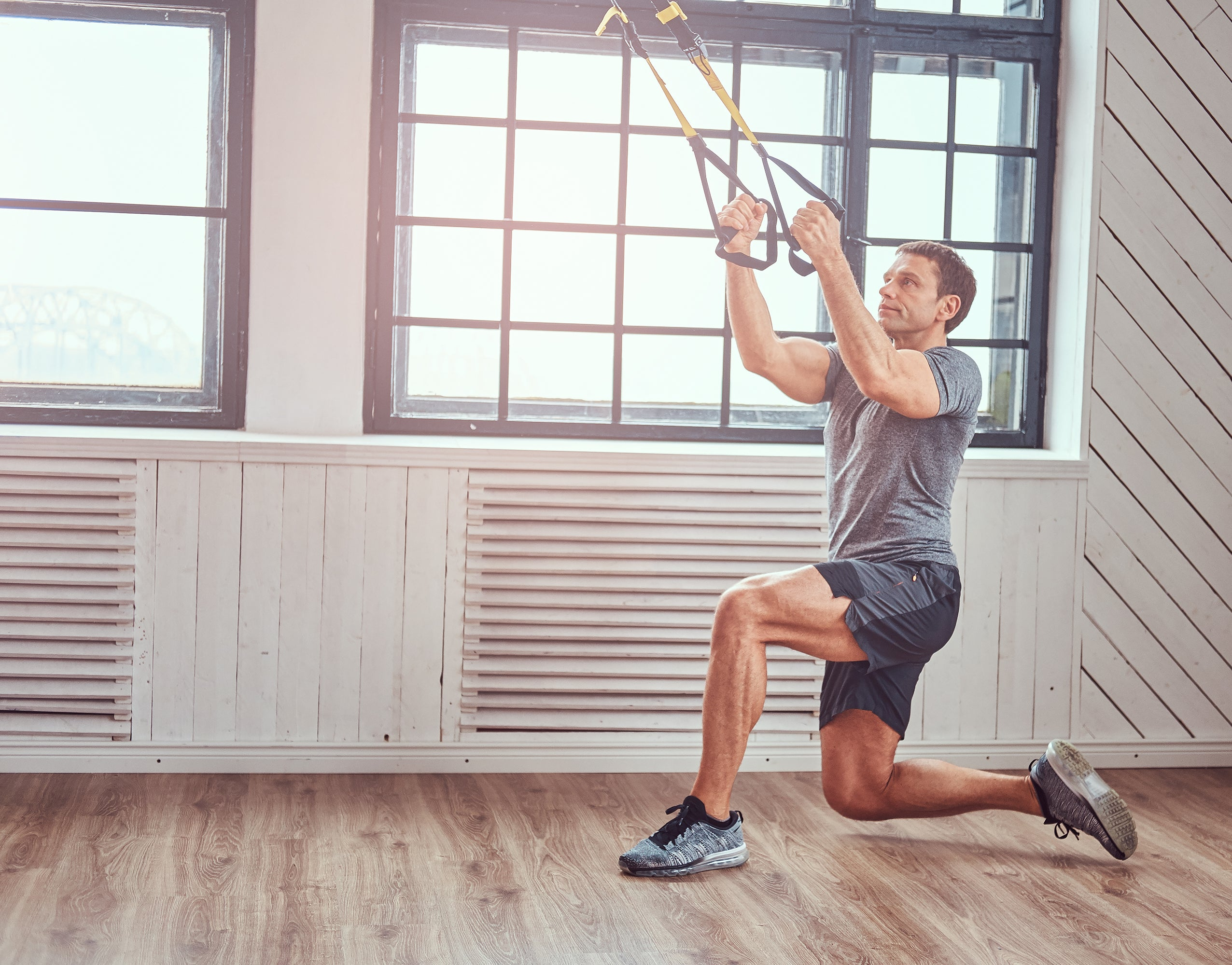 Suspension Trainers for Indoor Winter Exercise Workouts