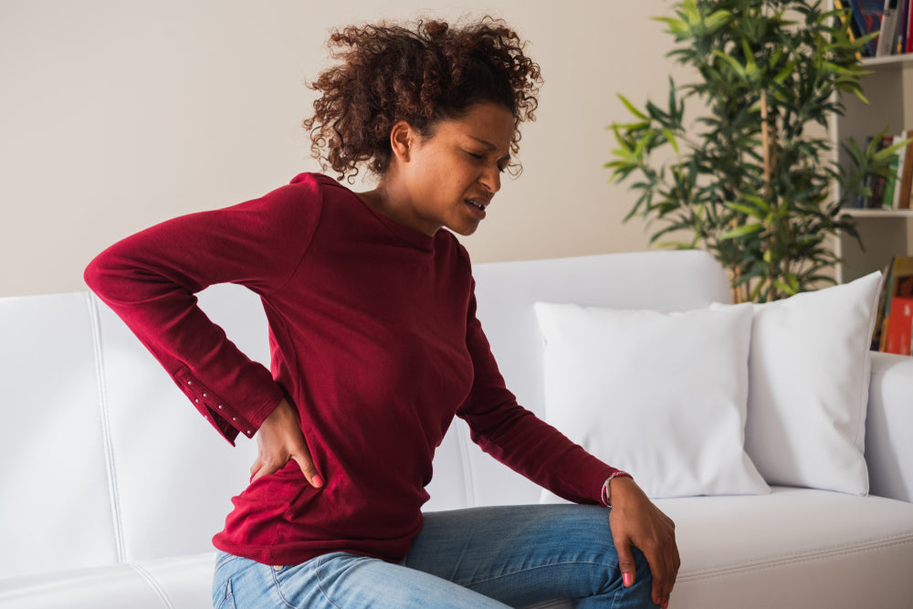 Chronic Back Pain Woman