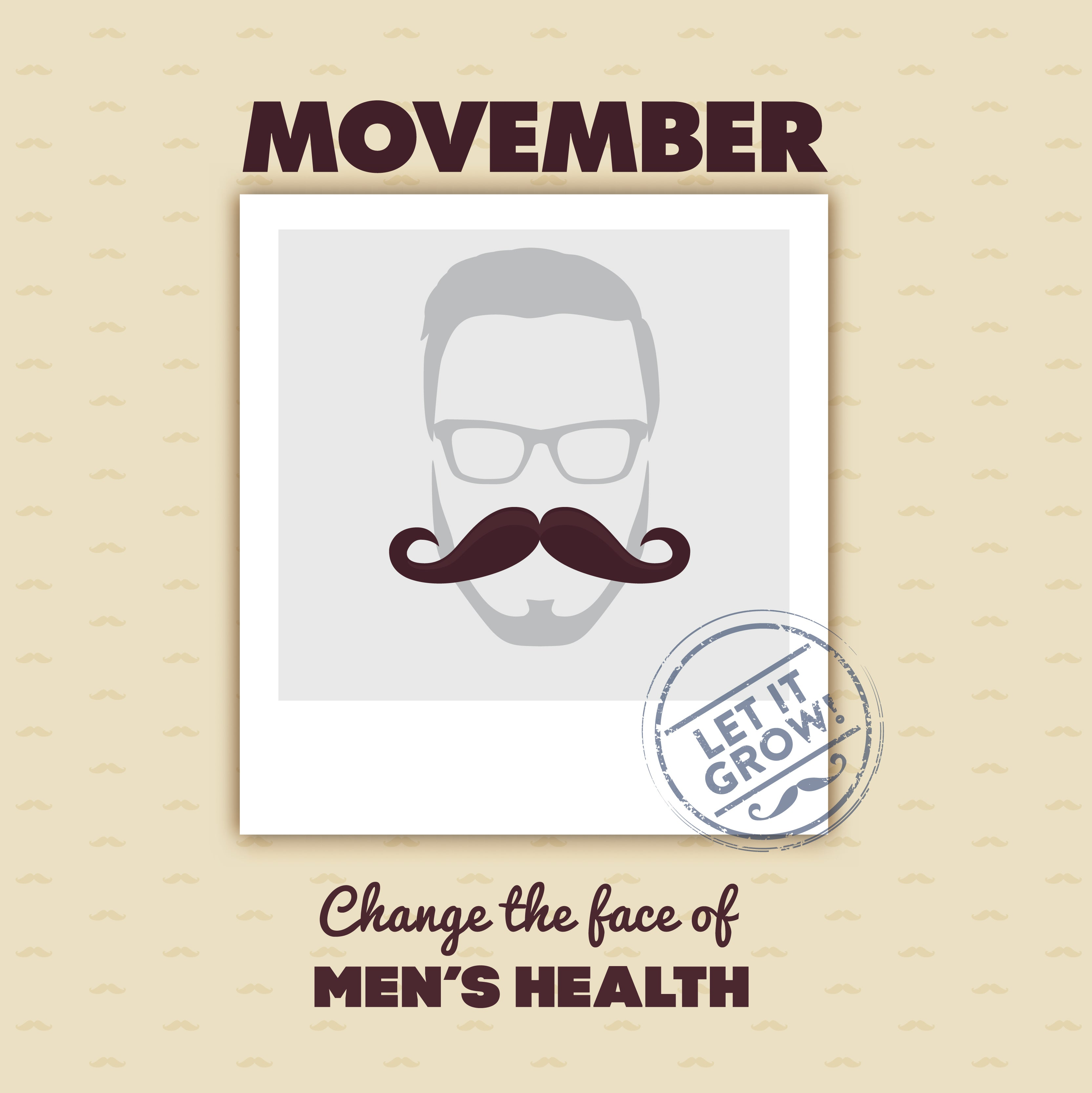 Movember Men's Health Awareness Advocacy