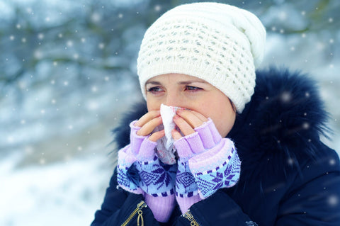 Symptoms of the common cold
