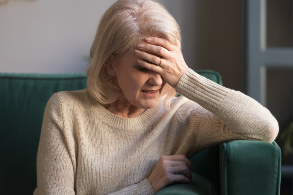 Woman with Chronic Pain and Headaches