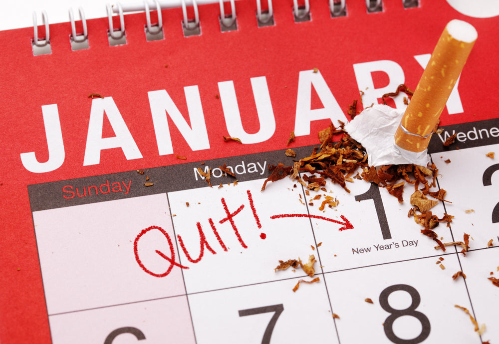Stop Smoking New Year's Resolution