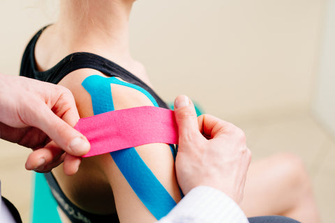 Applying Kinesiology Tape