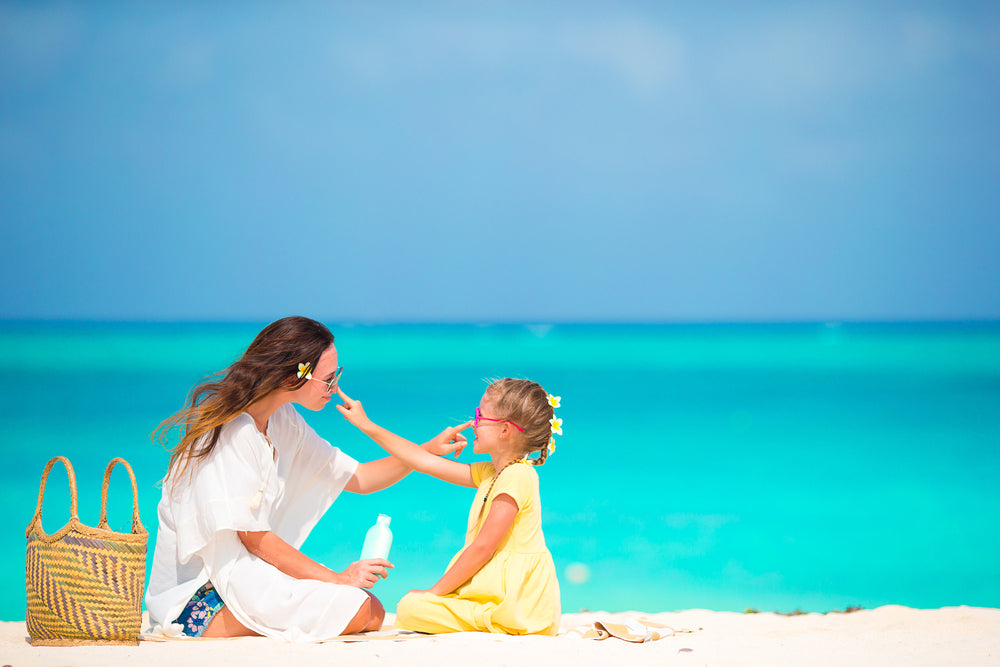 Sun Safety by Using Sunscreen