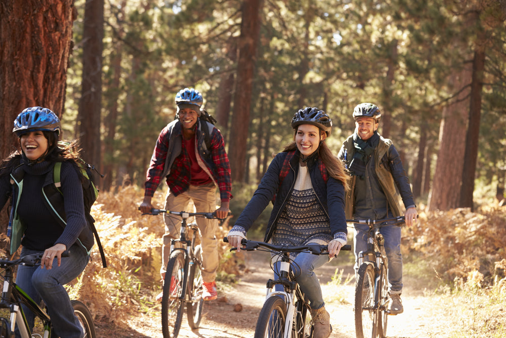 Biking to Avoid Cold and Flu