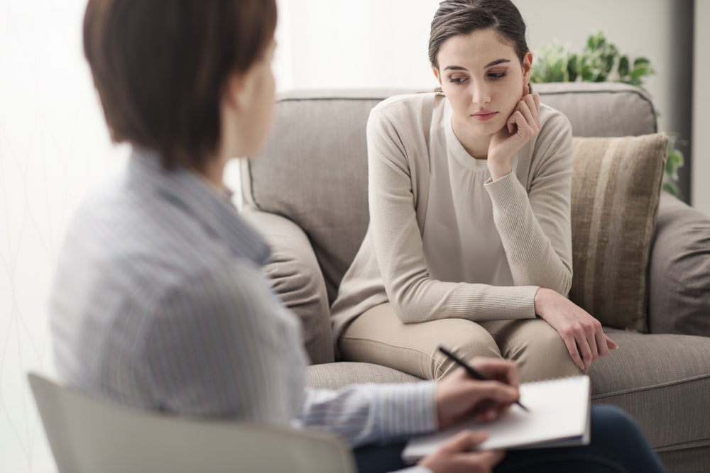 Mental Health Woman in Psychotherapy