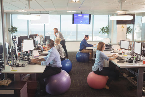 Office Desk Posture Exercise Balls