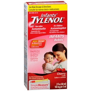 Tylenol Infant Oral Suspension, Cherry