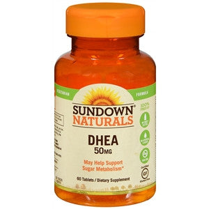 Sundown Naturals DHEA 50 MG Tablets