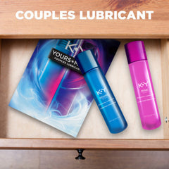 Buy K-Y Yours+Mine Couples Lubricants online used to treat Lubricant - Medical Conditions