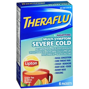 Theraflu Hot Liquid Multi-Symptom Severe Cold - Nighttime